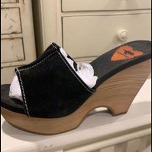 Rocket Dog wedge shoes.
